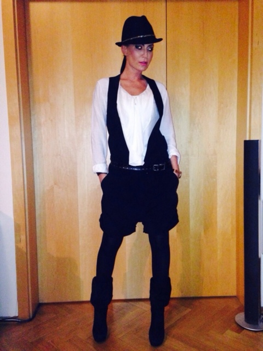 Mužský look v ženském oblékání   Blog 3ad9187febf